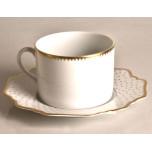 Simply Anna Antique Polka Tea Cup 6 oz 2.25 in Round