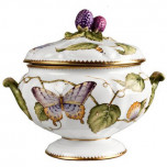 Giftware Butterfly Covered Dish 7 in High