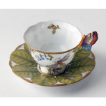 Butterfly Handle Cup & Saucer 4 oz