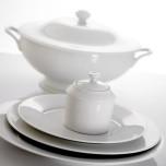 Recamier White Dinnerware | Gracious Style