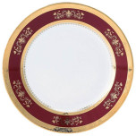 Deshoulieres Orsay Red Dinnerware | Gracious Style