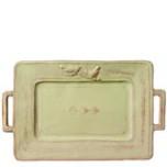 Bellezza Celadon Handled Platter