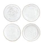 Bellezza White Assorted Canape Plates