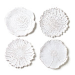 Bellezza Bloom White Dinnerware