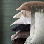 Bari Diamond Pique Egyptian Cotton Coverlet | Gracious Style