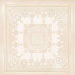Beauregard Ivory Tablecloth 75