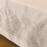 Beauregard Ivory Damask Table Linens