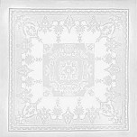 Beauregard White Tablecloth 77