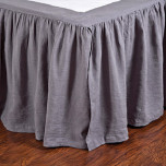 Gathered Linen Bedskirt | Gracious Style