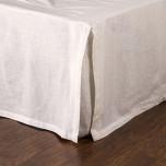 Pleated Linen Bedskirt