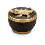 Crocodile Candle Gold