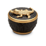 Crocodile Candle 4.5 x 3.5 in | Gracious Style