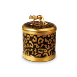 Leopard Candle 4 x 4.5 in | Gracious Style