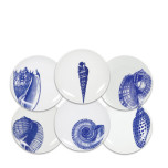 Shells Blue Dinnerware