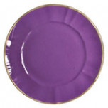 Lavender Charger 12.5 in Round