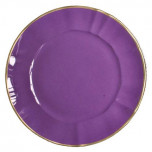 Chargers Lavender Charger 12.5 in Round