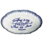 Trifling Blue Ring Tray