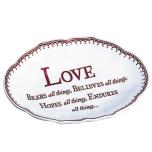 Love Verse Tray