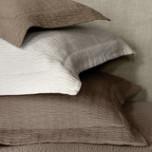 Celio Cotton/Silk Matelasse Coverlet   Gracious Style