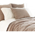 Chambray Linen Sable Duvet Cover