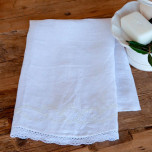 Coco Linen Hand Towels, Two