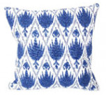 Casablanca Midnight With Eyelash Trim Pillow 20 X 20 In | Gracious Style