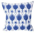Casablanca Midnight With Eyelash Trim Pillow 20 X 20 In | Gracious Style