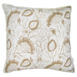 Lacefield Abaco Sand Throw Pillow 20 in Sq