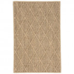 Diamond Natural Sisal Woven Rug
