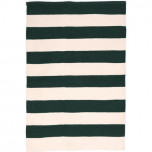 Catamaran Stripe Pine/Ivory Indoor/Outdoor Rug