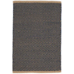 Arlington Navy/Camel Indoor/Outdoor Rug