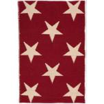 Star Red/Ivory Indoor/Outdoor Rug