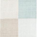 Bo Blue Woven Cotton Rug