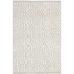 Bonnie Grey Woven Cotton Rug