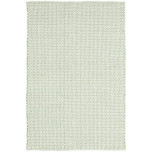 Beatrice Pale Green Woven Cotton Rug