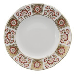 Derby Panel Red Dinnerware