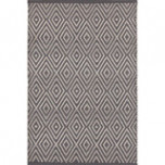 Diamond Graphite/Ivory Indoor/Outdoor Rug | Gracious Style
