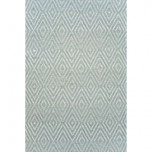 Diamond Light Blue/Ivory Indoor/Outdoor Rug | Gracious Style