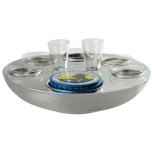 Transat Caviar-vodka set 6 person 2.5 in High