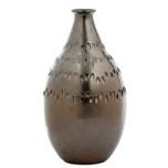 Etruscan Metallic Vase - Home Decor by Vietri   Gracious Style