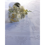 Eloise Diamant Green Sweet Stain-Resistant Table Linens