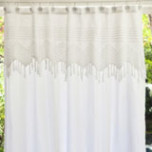 Vintage Crochet Shower Curtain | Gracious Style