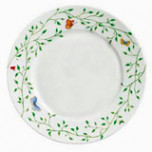 Wing Song Dinner Plate 10.5 in