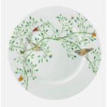 Wing Song Salad Plate Brown Bird 7.5 in