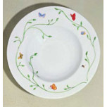 Wing Song Rim Soup Plate 9 in