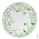 Wing Song Flat Cake Plate 12 in