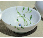 Wing Song Bone Dish 4 in
