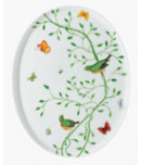Wing Song Oval Tray 8.3in