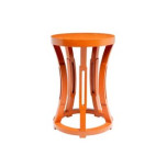 Bungalow 5 Hourglass Stool & Side Table | Gracious Style
