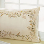 Jolie Silk Pillow (14x22 In) | Gracious Style